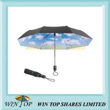 Double Canopies Auto Open and Close Umbrella