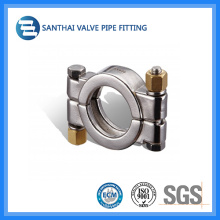Sanitary Double Pin Clamp High Pressure Clamp