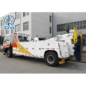 Highway Rescue Vehicle 13tons Wrecker Truck  4x2