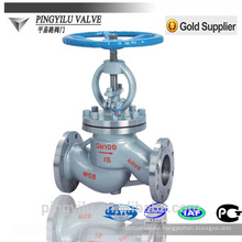 cast steel globe valve PN 16-100 standard stainless steel globe valve manufacturer manual and motorized globe valve