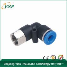 Prises pneumatiques d'un contact de coude d'ESP femelle pour le tube