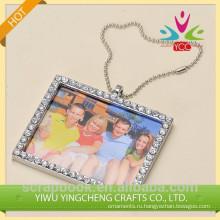 любящей семьи фото рамка & кристалл куб Фото рамка