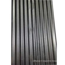 1060 feuilles ondulées en aluminium