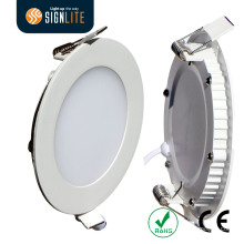Round Diameter 300mm/0.3m 24W LED Downlight, Spring Clip Installed LED Panel Light
