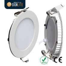 O diodo emissor de luz redondo Downlight do diâmetro 300mm / 0.3m 24W, grampo da mola instalou a luz de painel do diodo emissor de luz