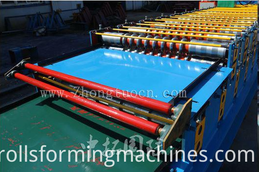 High Quality Standard Roofing Panel Roll Forming Machine