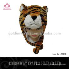 Зимняя шапка тигра дешевая