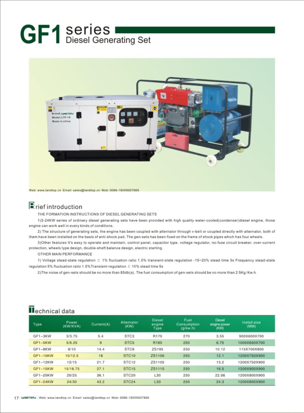 GF1 Diesel Generator