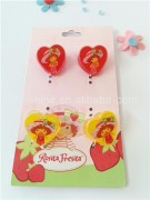 Plastic heart shape hair clip , hair pin , fashion hair accessories