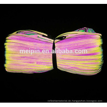 Verschiedene Farbe reflektierende Rohrleitungen für Kleidung / Tasche / Schuh / Cap