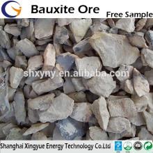 60%-88% Al2O3 raw bauxite for sale