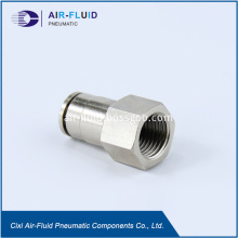 Air-Fluid Straight Female Push in Quick Fitting