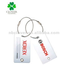 aluminium luggage tag for promotion