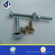 Round Head Square Neck DIN 603 Carriage Bolt with Nuts
