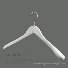 Big Shoulder Wodoen White Black Flocked Shoulder Hanger
