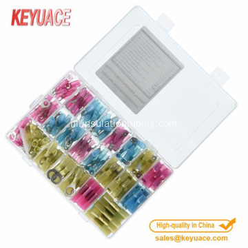 250 stks krimpkous Butt Connectors Terminals Set
