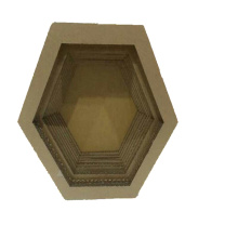China for Hexagonal Bowl Cat Scratcher cat Kitten scratching bed for pet toys export to Mauritania Manufacturers