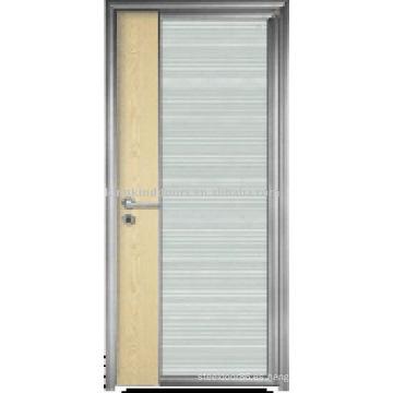 Puerta Interior de puerta (JST-K12) ecología ecológica para el diseño de puerta de aluminio