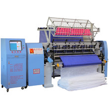 Computerized Shuttle Pillow Making Quilting Machine