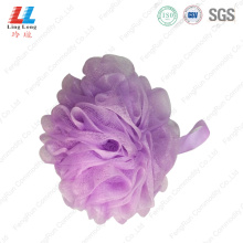 scrubber+shower+pouf+body+scrubber+bath+sponge