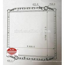 MAN L200 (93-97) MT auto piezas de repuesto radiador de aluminio de China fábrica 81061016324 81061016446
