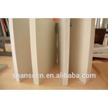 Panneau blanc de mousse de PVC imprimable pour le signe, draps rigides