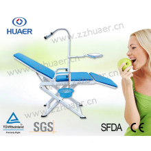Dental Supply Folding Portable Dental Chair/ Cheap Dental Chair/ Best Dental Chair