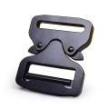 38mm Heavy Duty 300KG Metal Adjustable Black Electrophoresis Cobra Belt Buckle