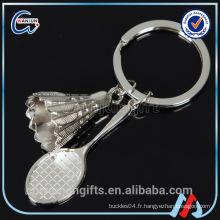 Porte-badminton, porte-clés en haute qualité fournitures
