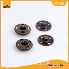 Costura em Prensas de Metal Botões BM10051