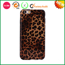 High Class Leopard Print Phone Case, Fancy Phone Accessory for iPhone6