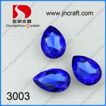 Contas de cristal de lágrima de jóias