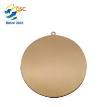Einzigartiges Entwurfs-fantastischer Spitzenverkauf Keine Mindestbestellmenge Zweiseitige Preis-Metallsport-Medaillen