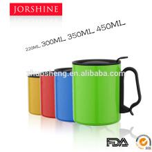 Caneca de café de alumínio de alta qualidade, promoção e preço barato