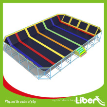 Factory price indoor trampoline park equipment price