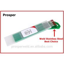"""2% Electrodo de tungsteno torcido Electrodos de soldadura TIG 3/32 """"x 7"""" WT20"""