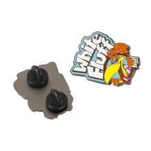 Wholesale Manufacturer Custom Cheap Metal Name Logo Soft Hard Enamel Pop Button Pin Lapel Badge