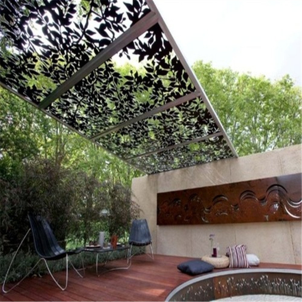 Decorative Outdoor Laser Cut Metal Screens