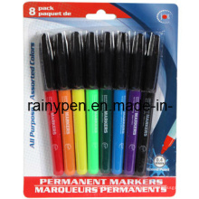 8PC Permanent Maker Pen, Dollar Item (110025)