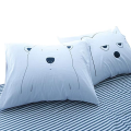 Cotton Percale Printed Bed Pillowcases