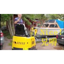 Mini escavadeira hidráulica mini escavadeira pequena escavadeira de esteira 1 tonelada 2 toneladas 3 toneladas preço barato para venda Fornecedor de fábrica