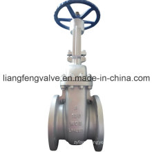 Rising Stem Flange End Gate Valve with Carbon Steel RF