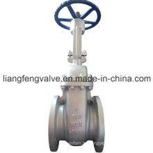 Подъемный концевой запорный клапан с углеродистой сталью