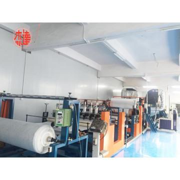 Hot Melt Adhesive Scattering Activated Carbon Powder Coating Laminating Machine