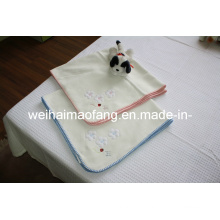 Cobertor de bebê 100% algodão (NMQ-BC001)
