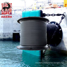 OEM permitted marine rubber cell fender/bumper for large wharf