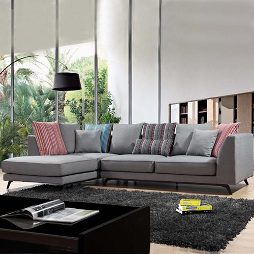 Sectional L Shape Sofa Set