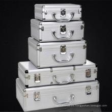Caja de herramientas de aluminio de Professioanl del precio de fábrica con la inserción de la espuma (KeLi-Tool-5068)