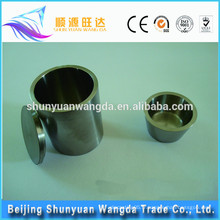 Chine fabricant Crucible à tungstène pur de haute pureté