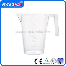 JOAN Lab de alta calidad de plástico de medición de la Copa con el mango